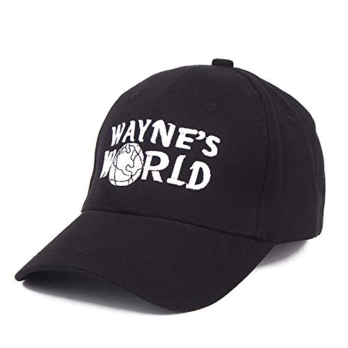 AGSHCQI Baseball Cap Adjustable Hat Mesh Cap Outdoor Sports Wear Waynes World Dad Hat (Adjustable, -