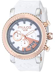 MULCO Unisex MW5-2870-013 Analog Display Japanese Quartz White Watch