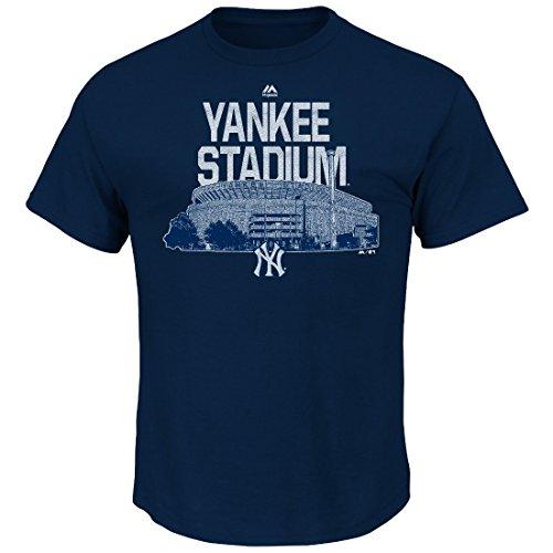 Majestic New York Yankees MLB Comeback Cooperstown Short Sleeve Men