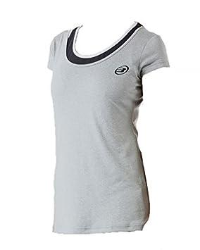 Bull padel Camiseta BULLPADEL Mujer VILLARICA Gris: Amazon.es: Deportes y aire libre