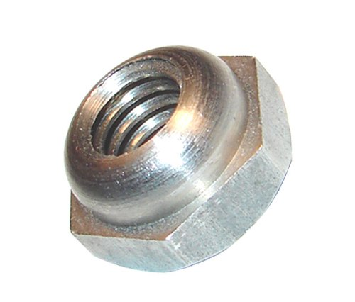 Morton 3562 Stainless Steel 303 Hex Head Equalizing Nut, 5/16''-18 Thread (Pack of 5)