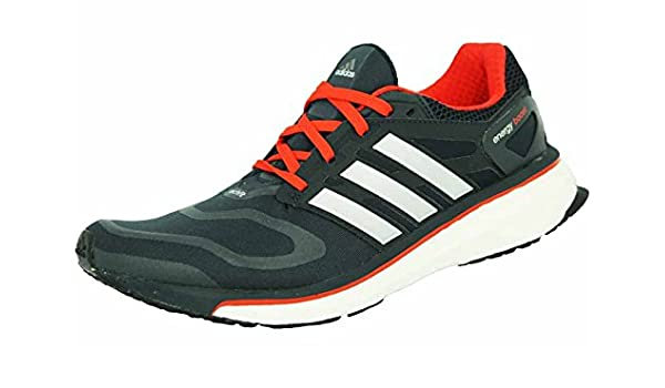 adidas Energy Boost M Zapatillas par Correr Running Negro Rojo para Hombre Techfit: Amazon.es: Deportes y aire libre
