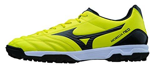 Mizuno Zapatos de deporte Oficial Futbol 2015/2016 Morelia Neo UT AS P1GD151594 Negro amarillo Tamano 45