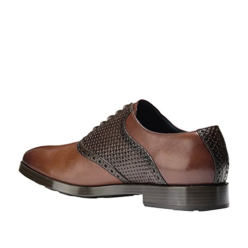 Cole Haan Mens Jefferson Grand Sella Ox Ii Woodbury-rum Uva Passa