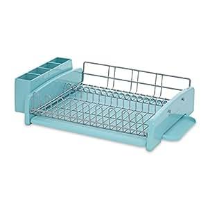 kitchenaid 3 piece dish rack aqua sky kitchen dining. Black Bedroom Furniture Sets. Home Design Ideas