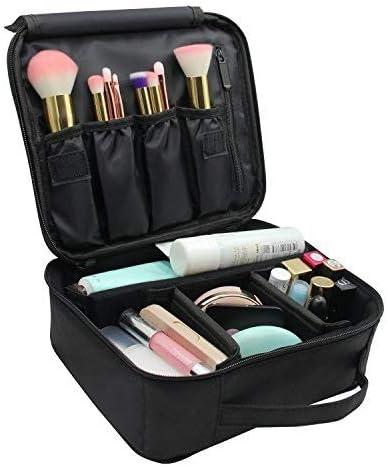 Neceser Maquillaje,Vococal® Bolsa de Cosméticos Organizador - Brochas de Maquillaje Estuches Portátil Maletín de Almacenamiento, Funda de Viaje para Cosméticos Joyería/Labial/Cepillo de Sombra (Negro): Amazon.es: Belleza