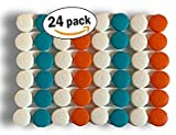 Contact Lens Case - Pack of 24 Cases for Eye