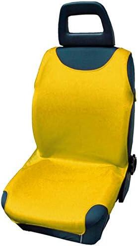 gelb 4U-Onlinehandel 2er-Set Autositzbezug Shirt Cover