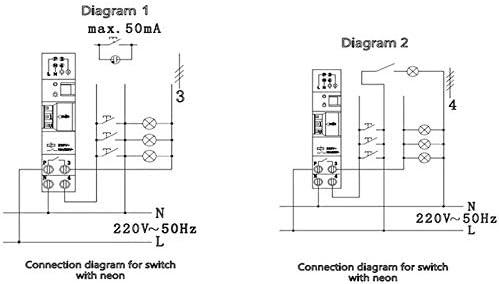 SINOTIMER TM-ST7 220V 7 Minutos Temporizador mecánico 18mm Módulo ...