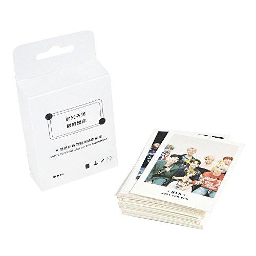 HS store 7PCS Kpop BTS Love Yourself 结 Answer Album Photo Cards Autograph Photocard Set (@6 Lomo Card 45 pcs/Set)