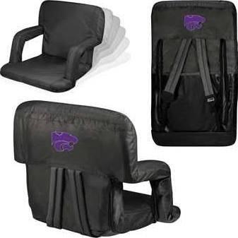 NCAA Kansas State Wildcats Ventura Portable Reclining Seat