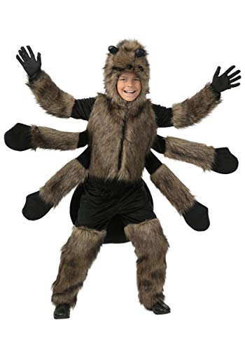 Child Furry Spider Costume Large (12-14) -