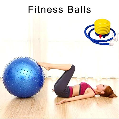 Nicemeet Smartey Woo Home Training Excises Fitness Explosion-Proof Thickened Yoga Ball+Air Pump Noble