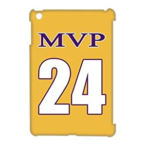 NBA Los Angeles MVP NO.24 Jersey Golden Hard Case Cover for Ipad Mini