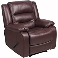 Global Furniture 8869 Neron Collection Traditional Recliner, Brown