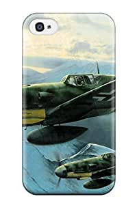 Durable Aircraft Military Man Made Military Back Case/cover For Iphone 4/4s