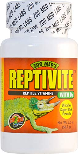 Zoo Med Laboratories Inc-Reptivite Reptile Vitamins with D3 2 Ounce