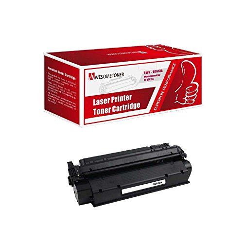 - Awesometoner Compatible 1 Pack Q2613A Toner Cartridge For HP LaserJet 1300 1300N 1300XI High Yield 4000 Pages