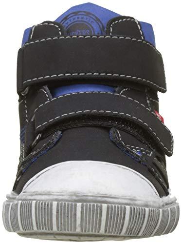 Kickers Garçon Noir Baskets Hautes noir 8 Bumper a1rzHFa