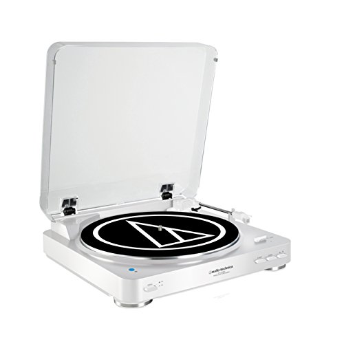 Audio Technica AT-LP60BTWH Color Blanco – Tocadiscos