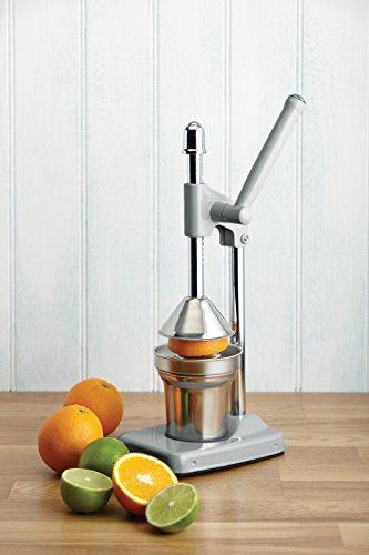 Kitchen Craft Living Nostalgia - Spremiagrumi per Uso intensivo, con Leva, Colore: Grigio Francese 2 spesavip