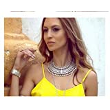 Retro Necklace womens tassel Chain Personality Necklace clavicle Chain