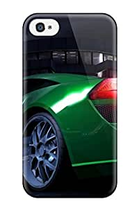 Tpu Fashionable Design Lotus Elise Rugged Case Cover For Iphone 4/4s New