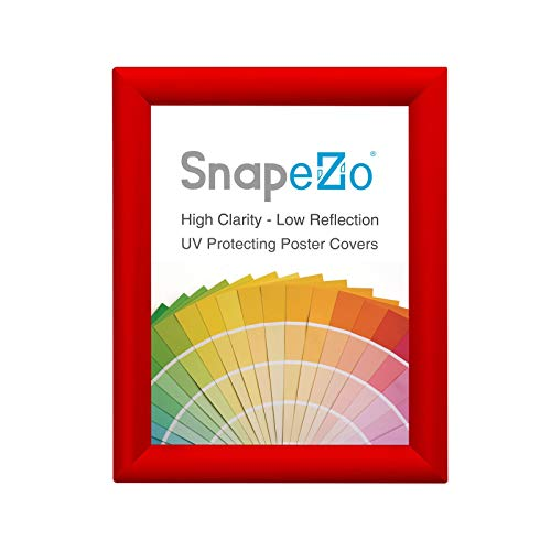 - SnapeZo Red Poster Frame 8.5x14 Inches, 1.2