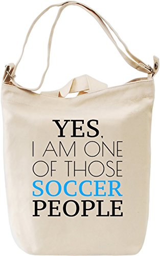 Giornaliera Of Soccer Day Slogan I Canvas Bag Canvas DTG 100 Am Printing People Cotton Canvas Premium One Those Borsa Funny Yes nvX8tqOxO