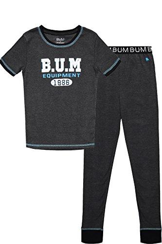 B.U.M Equipment Boys Short Sleeve Pajama Shirt & Pants Cotto