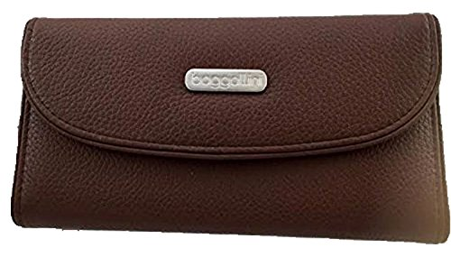 Leather Wallet Large Brown...