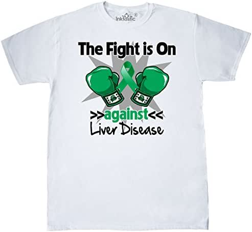 inktastic Fight is on Against Liver Disease T-Shirt