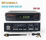 GTMedia V7S HD DVB-S2 Full HD 1080P Satellite TV Receiver Support PowerVu Biss Key Newcamd + 1pc AV Cable + USB WiFi