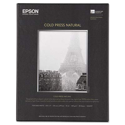 Epson Cold Press Natural Fine Art Paper (Epson Epson Cold Press)