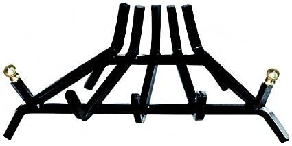 Rejilla Leña de Acero 5 barras triangular