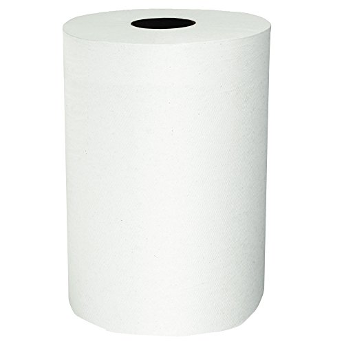 Price comparison product image Scott Slimroll Hard Roll Paper Towels (12388) with Fast-Drying Absorbency Pockets, White, 6 Rolls / Case, 580' / Roll