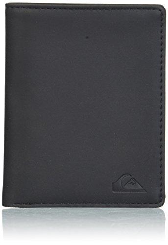 (Quiksilver Men's Trilogy Wallet, black, M)
