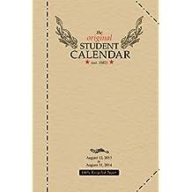 2013-14 Original Student Calendar
