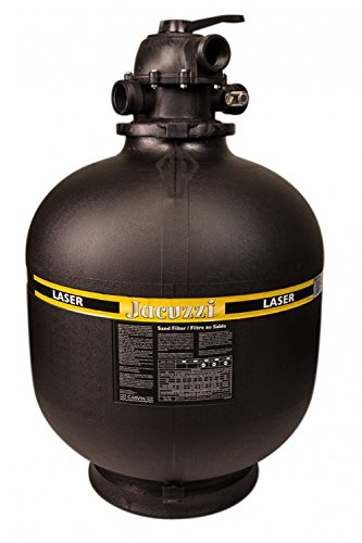Jacuzzi Laser 25 Inch Sand Filter Tank with Valve by Jacuzzi