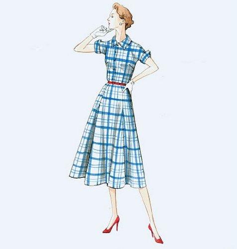 Vogue Patterns V9000 B5 Sizes 8/10/12/14/16 Misses Dress and Belt ...