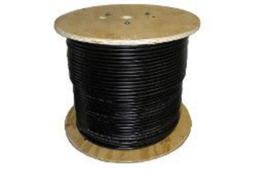 USE-2 Wire Spool for Solar, Single-Insulated 10 AWG, 7-Strand, Black (Awg 10 Single)