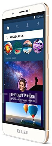 Blu Energy X Plus 2   5 5  4 900Mah Super Battery   Gsm Unlocked Smartphone  Gold