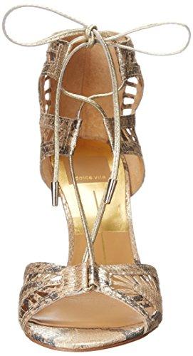 Dolce Vita Henlie de la mujer vestido Bomba Gold Snake