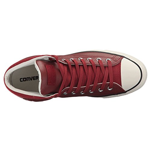 Buy red leather chuck taylor mens