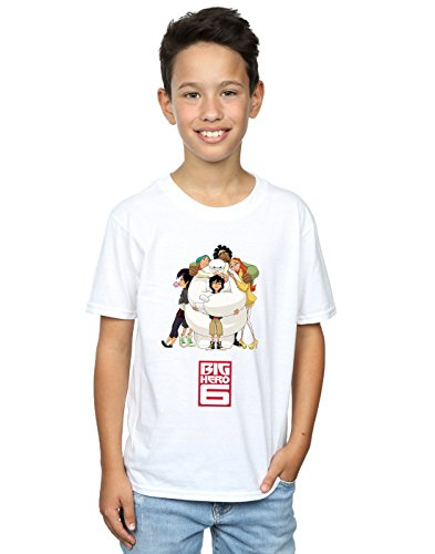 Hero camiseta blanca Baymax Big Hug Disney Boy 6 ZHqE4H6w