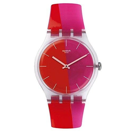 Swatch Men's New Gent SUOK117 Multi Silicone Swiss Quartz Watch