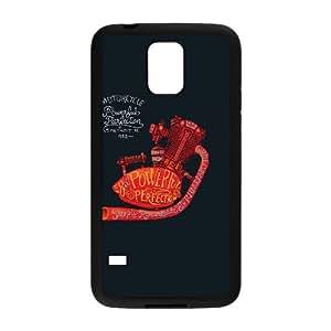 Samsung Galaxy S5 Cell Phone Case Black POWER HEART LV7136805