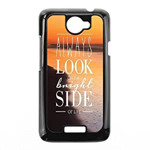 HTC One X Cell Phone Case Black Bright Side FY1397928