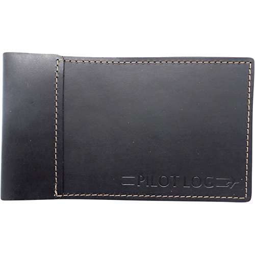 Leather Standard Pilot Logbook Cover (Black)