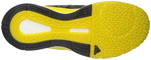 Scarpa Da Pallavolo Di Adidas Womensflight X Pallavolo Buccia Di Limone / Argento Metallizzato / Nero